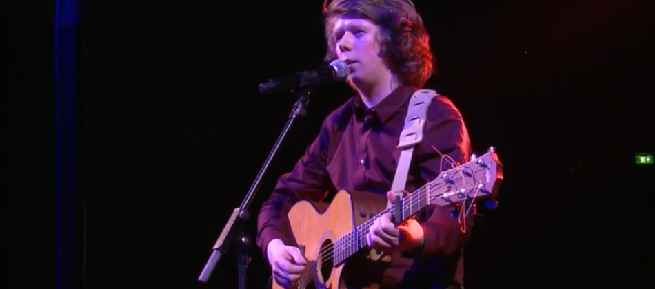 James Holt performs at the Royal Albert Hall