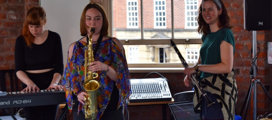 Anna Meredith Residency: Day 4