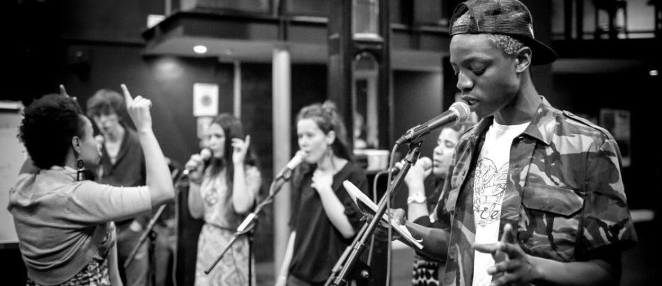 Music sessions for young people in Manchester