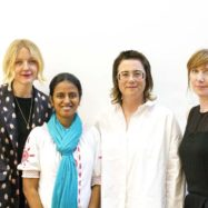 Lauren Laverne, Dr Radha Boya, Mary Griffiths and Sara Lowes